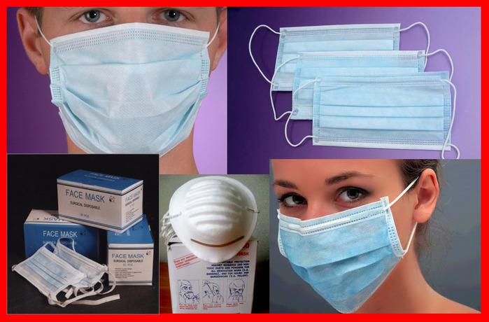 Как одевается маска медицинская